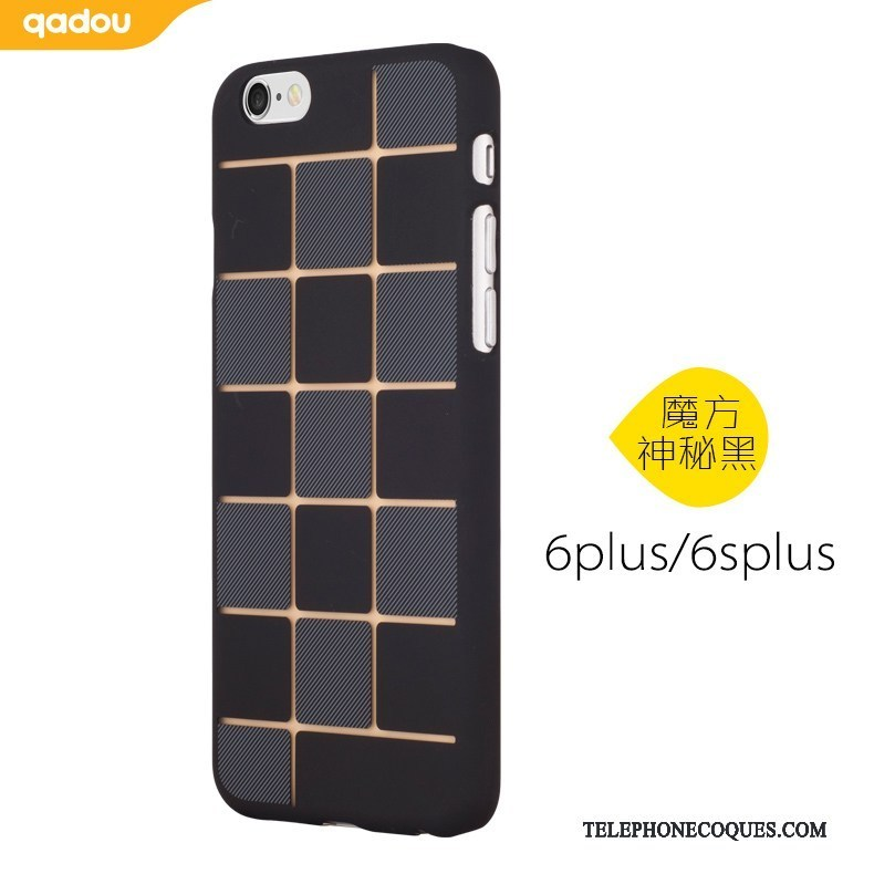 Coque Pour iPhone 6/6s Plus Délavé En Daim Créatif Étui Rose Rouge