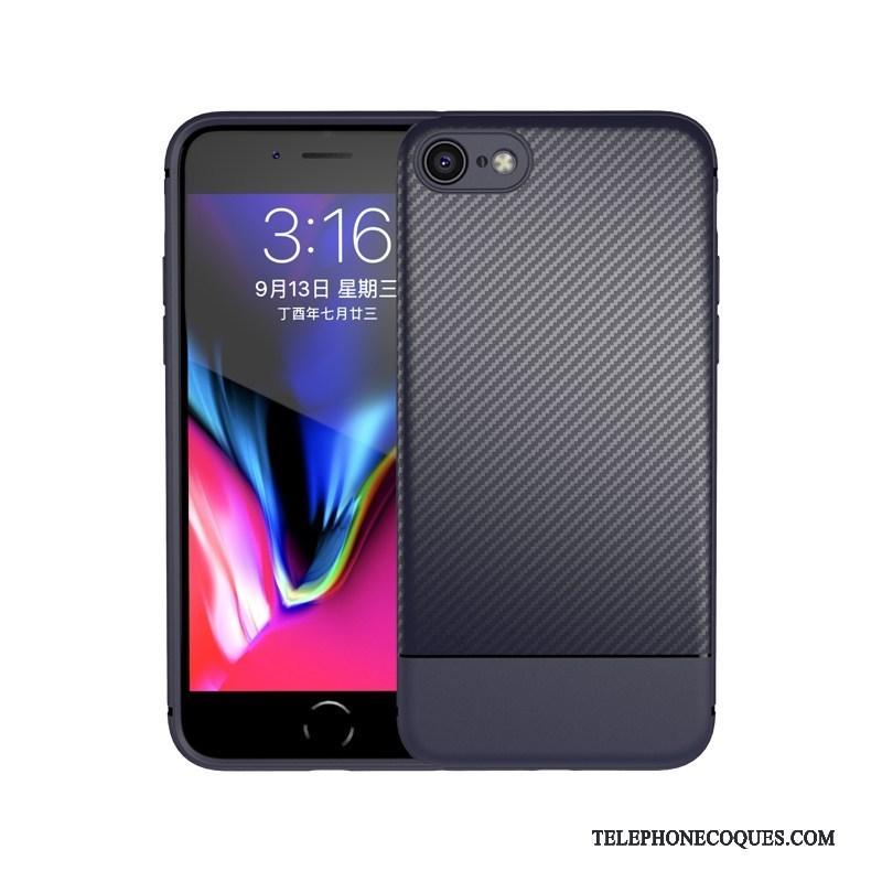 Coque Pour iPhone 8 Étui Fluide Doux De Téléphone Tout Compris Élégant Incassable