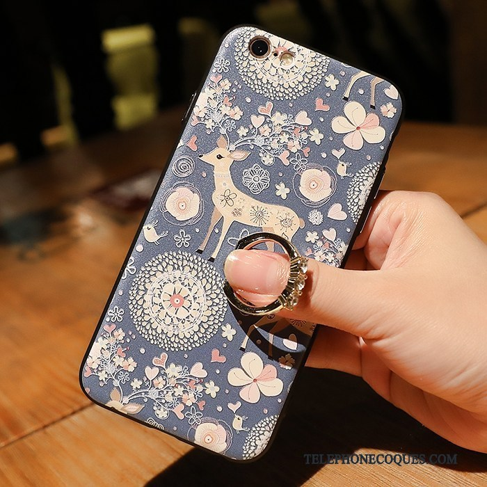 Coque Pour iPhone 8 Ornements Suspendus Tendance Support De Téléphone