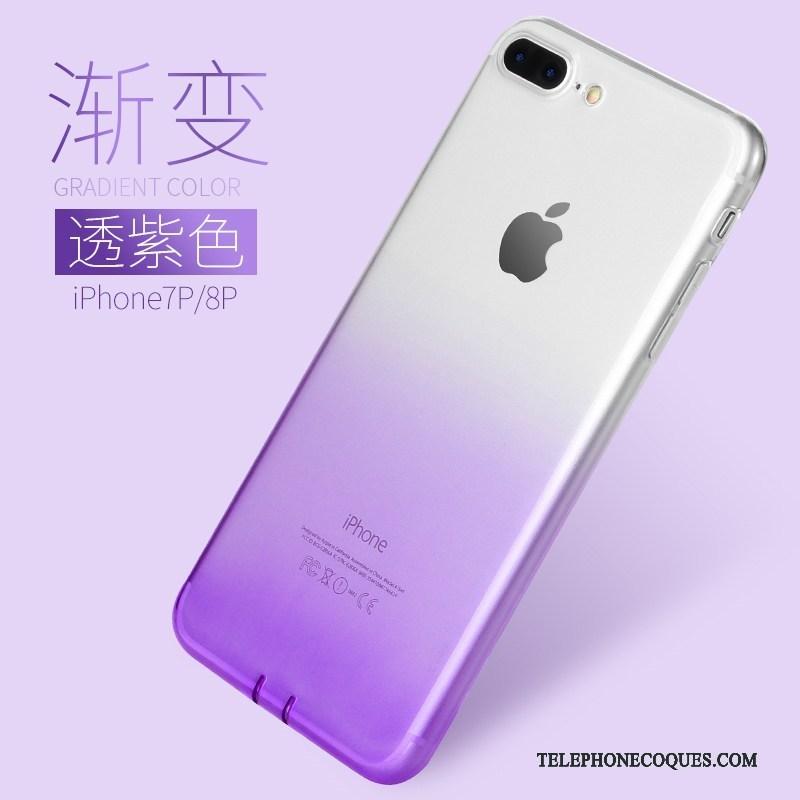 coque iphone 8 plus degrade couleur
