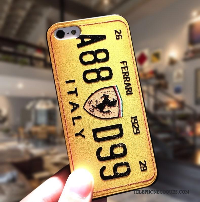 Coque Pour iPhone Se Étui Protection Simple De Téléphone Incassable Délavé En Daim