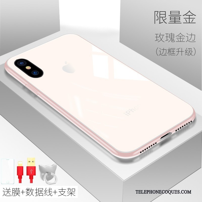 coque iphone x silicone blanc