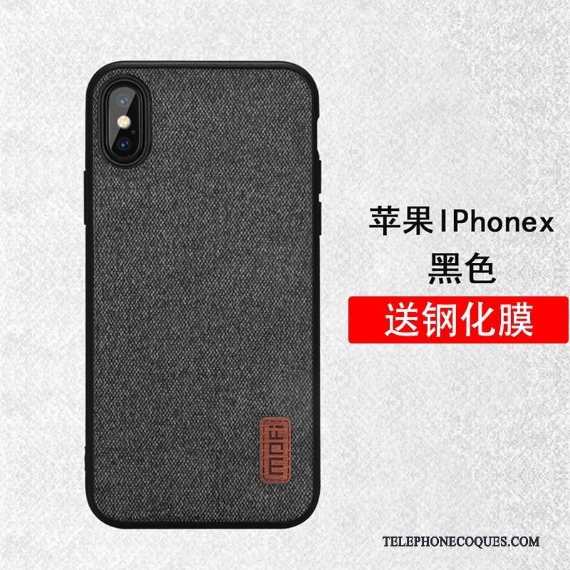 Coque Pour iPhone X Tout Compris Très Mince Étui Incassable De Téléphone