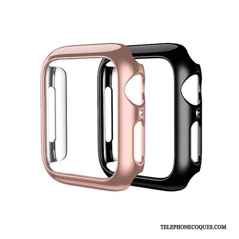 Coque Pour Apple Watch Series 2 Placage Or Rose Difficile Protection Étui