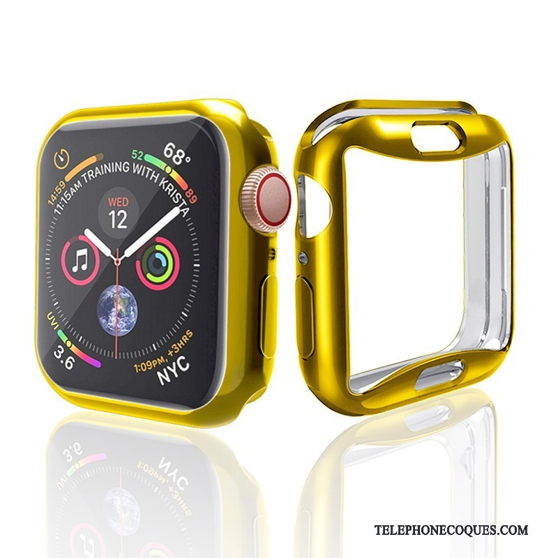 Coque Pour Apple Watch Series 2 Protection Incassable Placage Silicone Tendance
