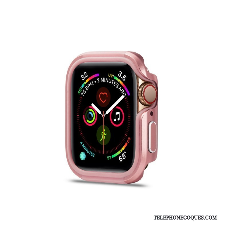 Coque Pour Apple Watch Series 2 Pu Border Incassable Étui Alliage