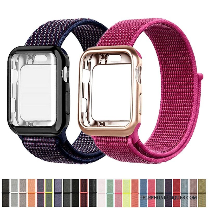 Coque Pour Apple Watch Series 2 Rouge Nylon