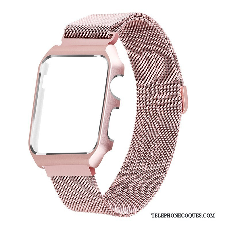 Coque Pour Apple Watch Series 3 Protection Rose