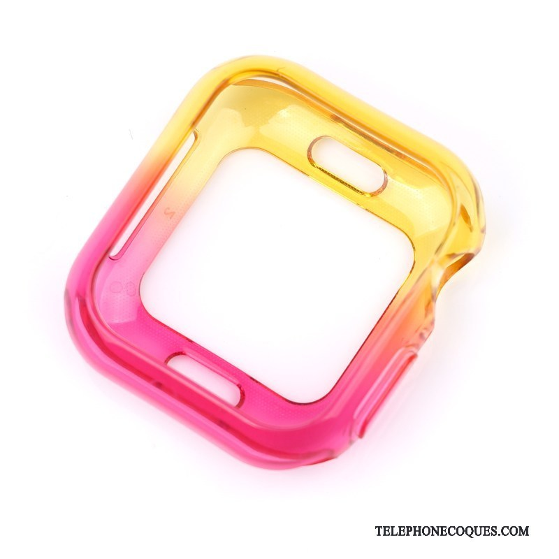 Coque Pour Apple Watch Series 4 Multicolore Rose Protection