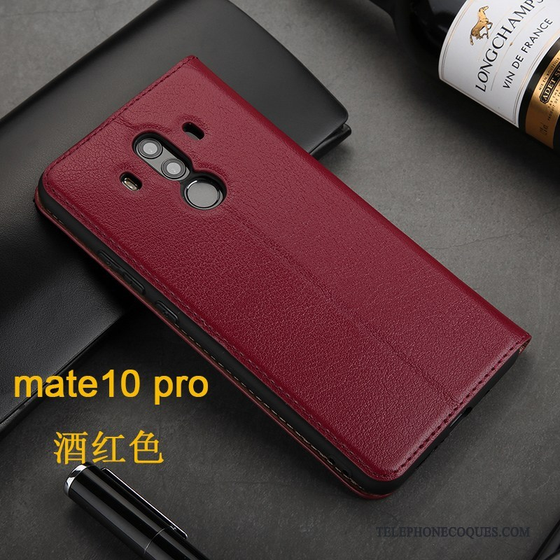 coque rouge huawei mate 10 pro