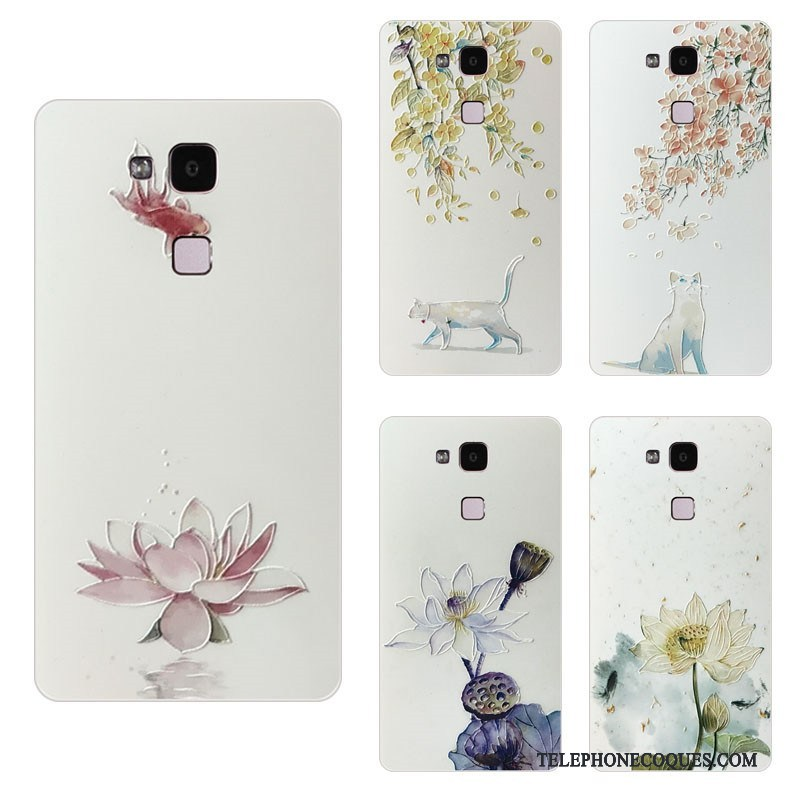 Coque Pour Huawei Mate S Transparent Beau Style Chinois Jeunesse Protection