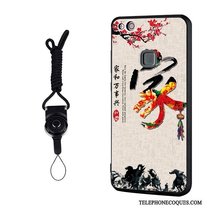 Coque Pour Huawei P10 Lite Jeunesse Multicolore Support Fluide Doux Étui Protection