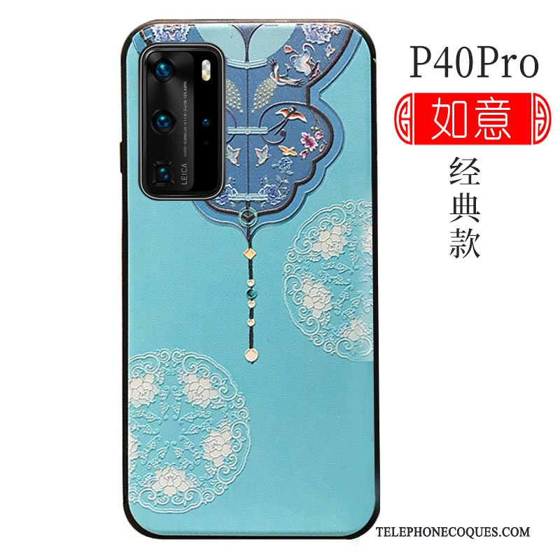 Coque Pour Huawei P40 Pro Silicone Tout Compris Luxe Protection Incassable