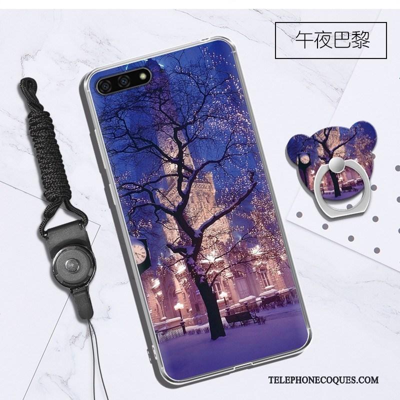 coque huawei y6 silicone 2018