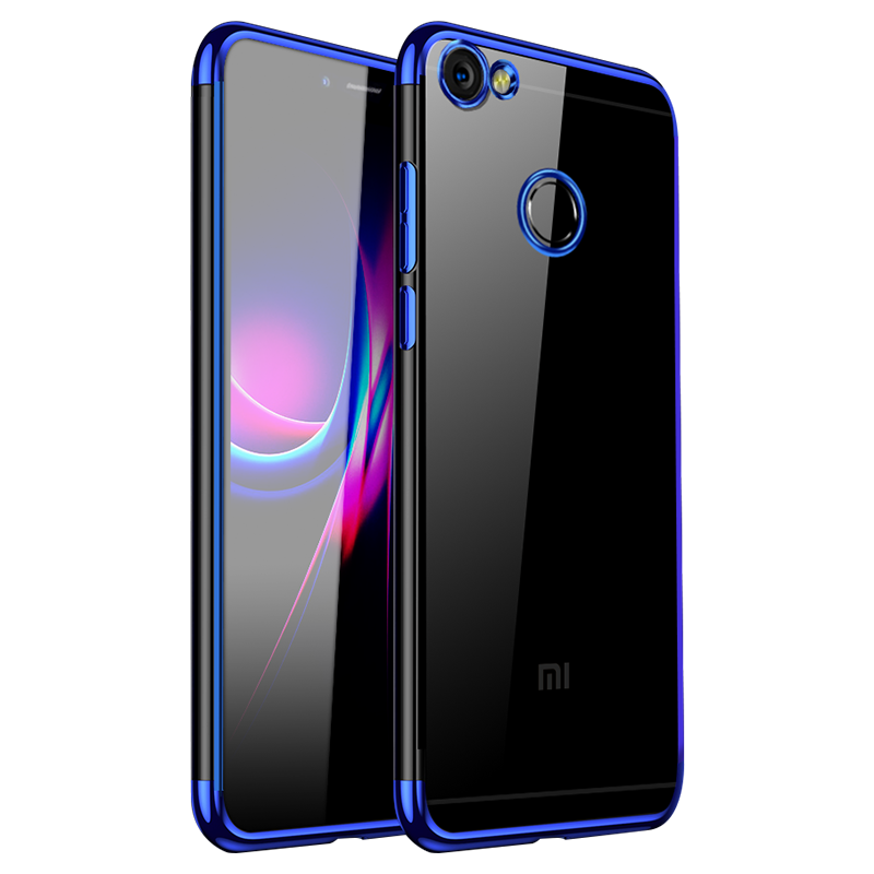 Coque Pour Redmi Note 5a Tout Compris Rouge Petit De Téléphone Incassable Bleu