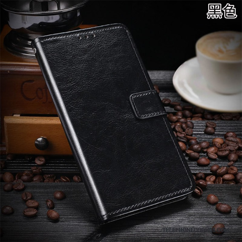 Coque Pour Samsung Galaxy M20 Protection Incassable Portefeuille Étui En Cuir Business