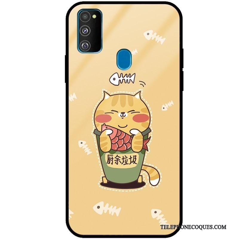 Coque Pour Samsung Galaxy M30s Silicone Dessin Animé Protection Fluide Doux Mode Vent