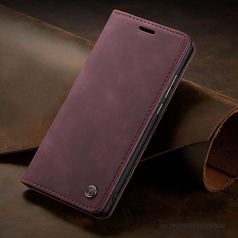 Coque Pour Samsung Galaxy Note 10 Étui En Cuir Étoile Fluide Doux Housse Membrane De Téléphone