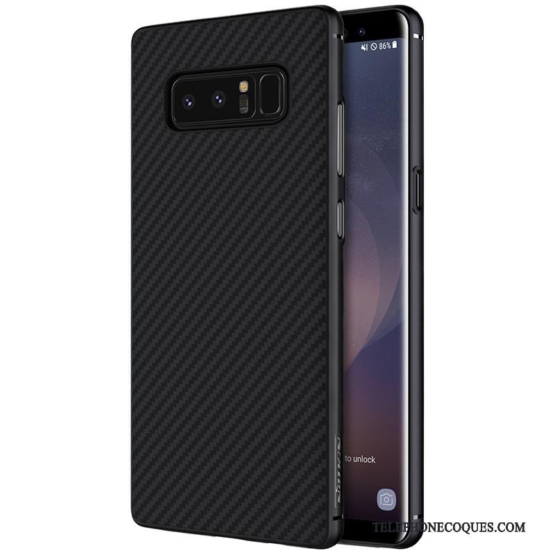 Coque Pour Samsung Galaxy Note 8 Incassable De Téléphone Noir Or Étoile Étui