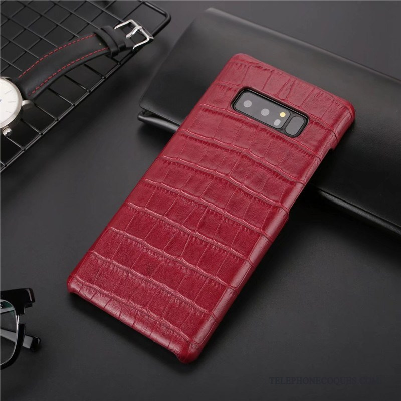coque rouge galaxy note 8