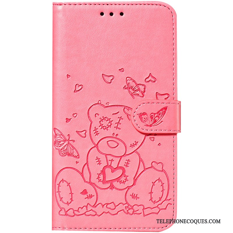 Coque Pour Samsung Galaxy S10 Lite Étoile Carte Charmant Clamshell Protection Rose