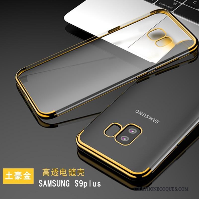 coque samsung s9 silicone jaune