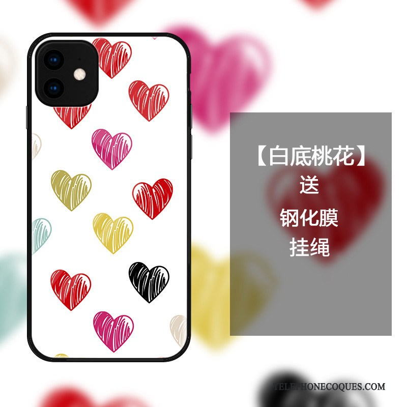 Coque Pour iPhone 11 Mode Simple Protection Tout Compris Incassable Amour