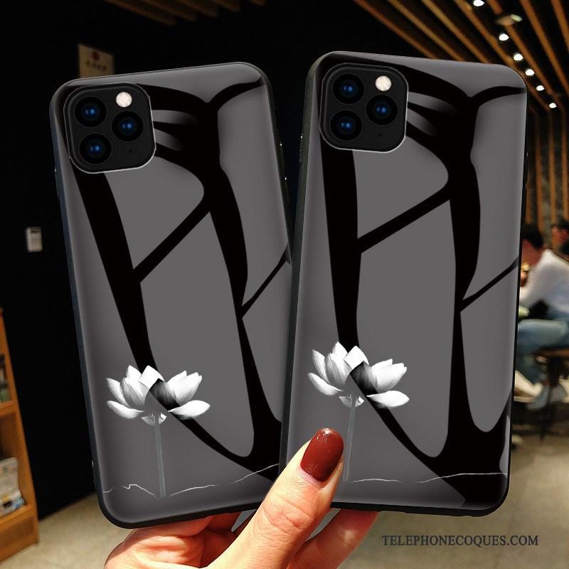 Coque Pour iPhone 11 Pro Mode Incassable Blanc Protection De Téléphone Ligne