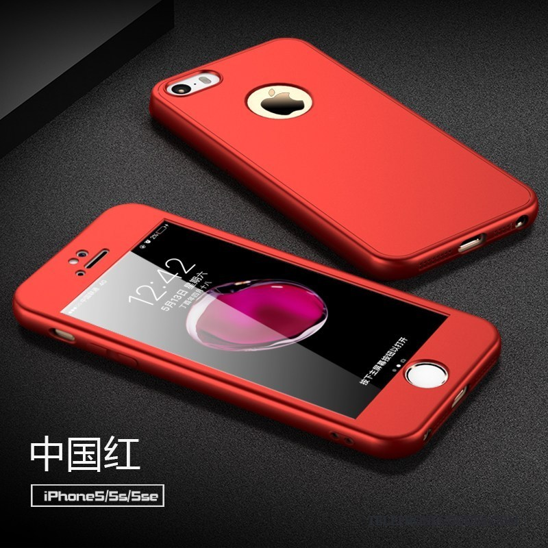 coque rouge pour iphone 5