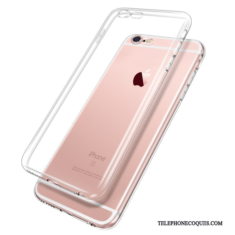 Coque Pour iPhone 6/6s Plus Silicone Protection Étui Fluide Doux Incassable Transparent