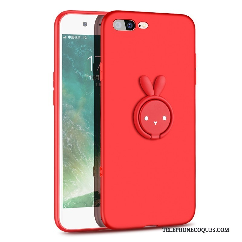 coque rouge iphone 7 silicone