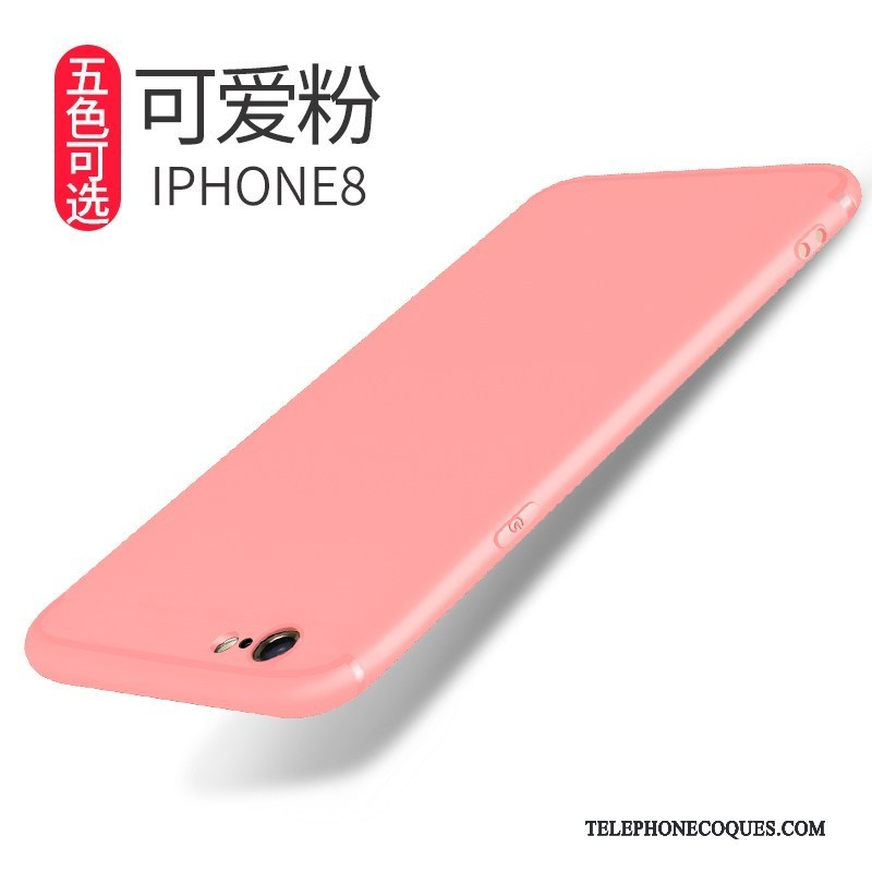 coque protection iphone 8 rose