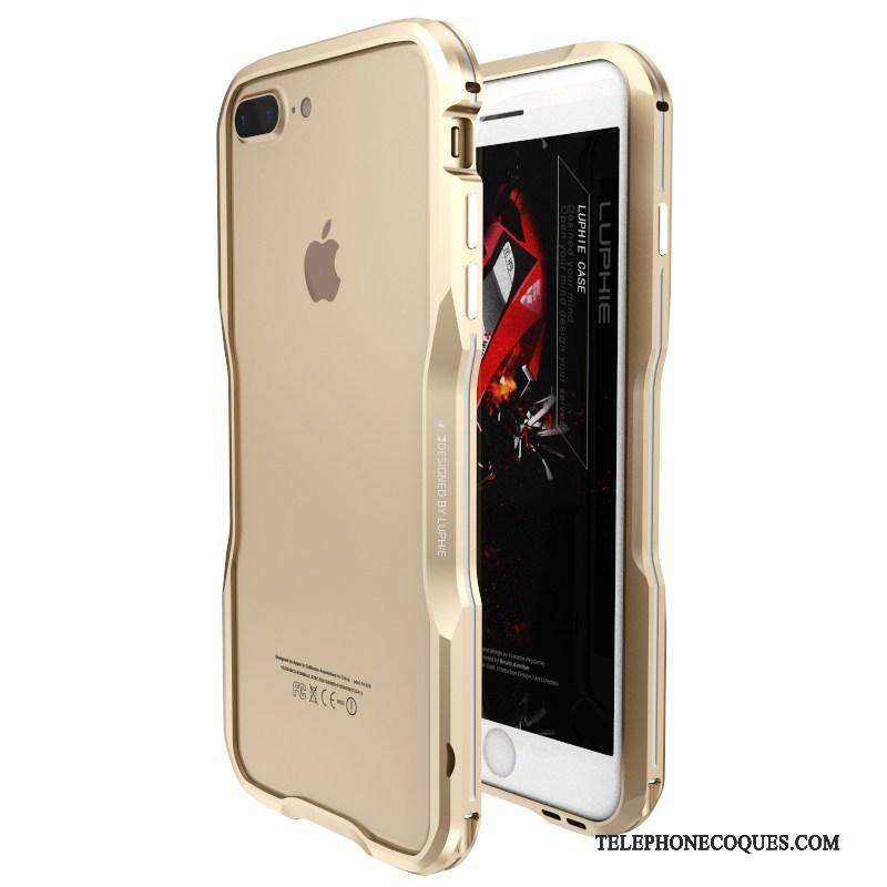 Coque Pour iPhone 8 Plus Étui Créatif Protection De Téléphone Métal Incassable 5201