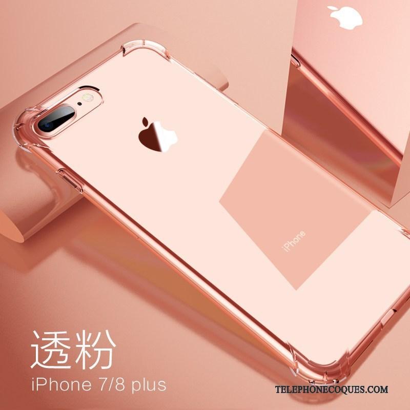 Coque Pour iPhone 8 Plus Protection Contre Les Explosions Ballon Pu Tout Compris De Téléphone Silicone 5021