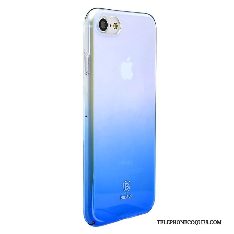 Coque Pour iPhone 8 Protection De Téléphone Bleu Placage Dégradé 4895