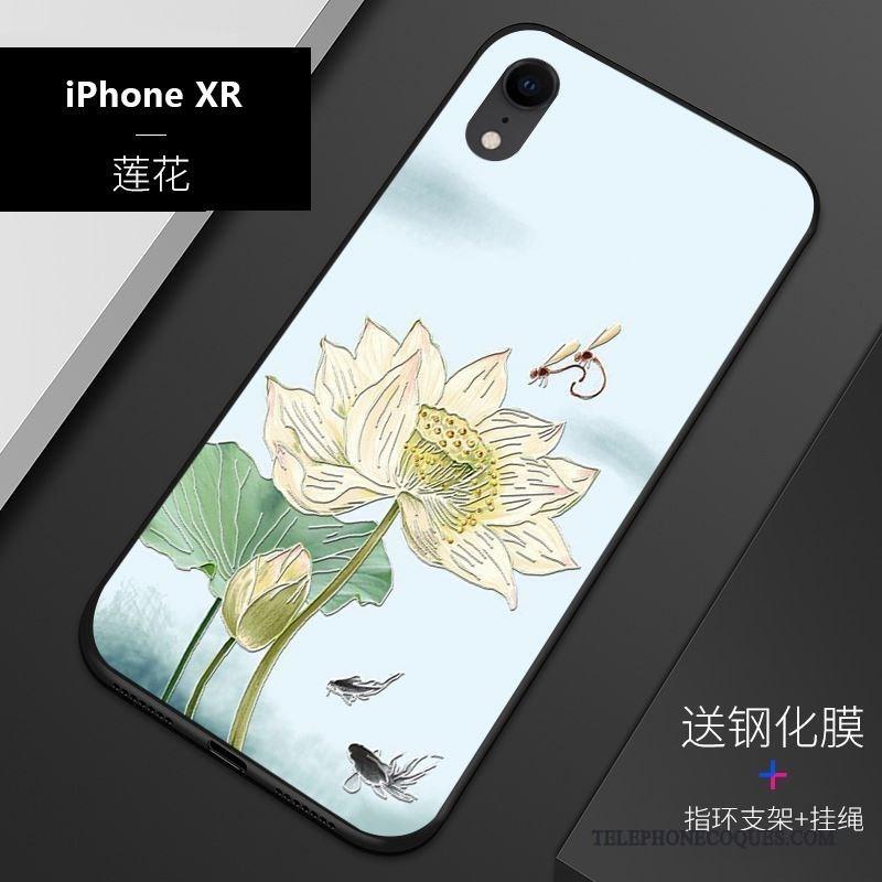 coque bleue pour iphone xr
