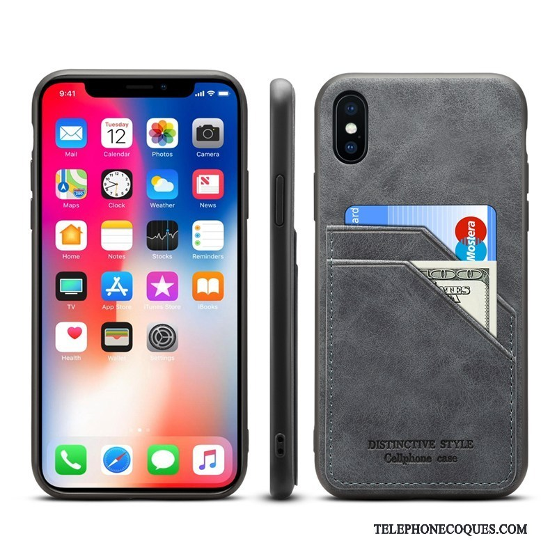 coques iphone xs cuir
