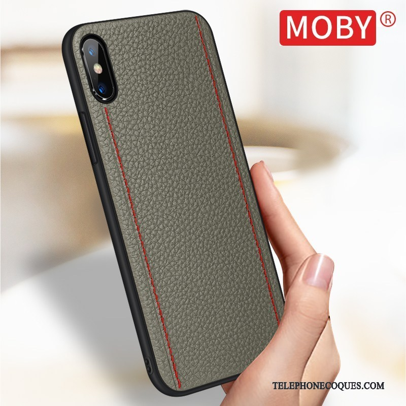 coque iphone xs luxe marque