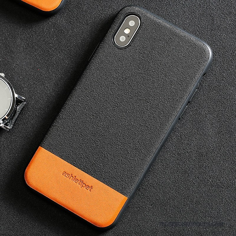 coque iphone xs en cuir
