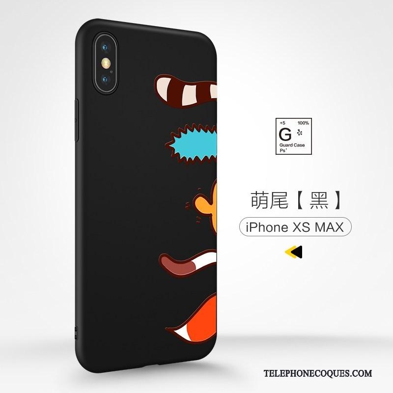 coque iphone xs max dessin anime